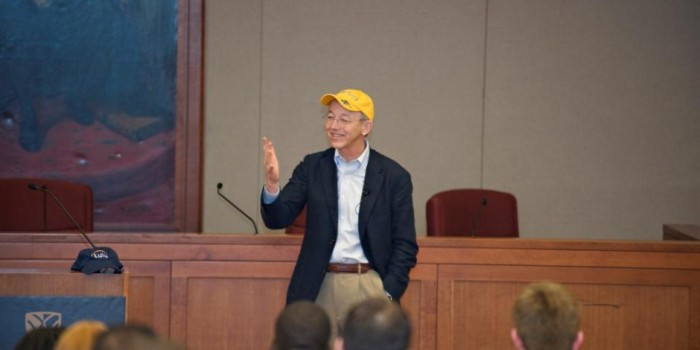 Bob Young, co-founder of Red Hat and CEO and founder of Lulu.com, gives keynote address at the 2011 JBIPL Symposium.