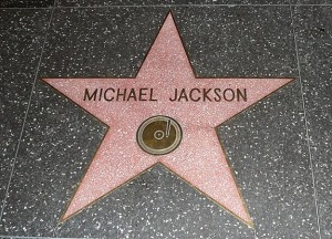 Michael Jackson Walk of Fame star