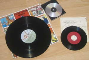 Vinyl records and DVD
