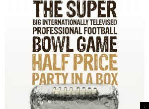 Chipotle Super Bowl Ad