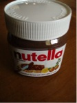 Container of Nutella