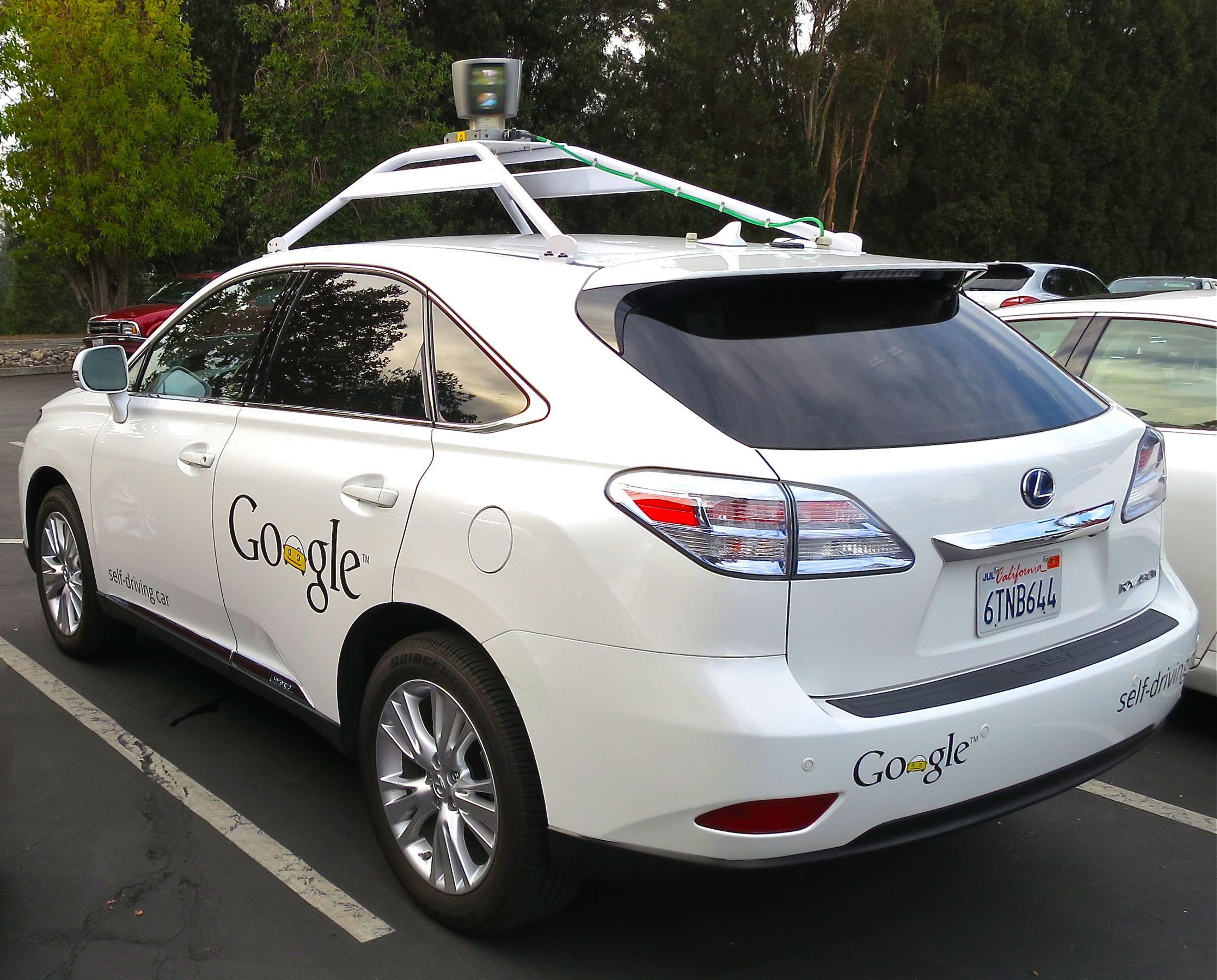 By Driving_Google_Self-Driving_Car.jpg: Steve Jurvetsonderivative work: Mariordo - This file was derived fromDriving Google Self-Driving Car.jpg:, CC BY 2.0, https://commons.wikimedia.org/w/index.php?curid=23386014